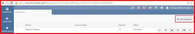Blue Dart Linnworks Shipping Integration App User Manual   Ebusiness