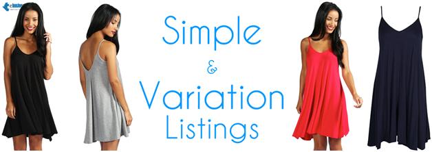simple variation listing