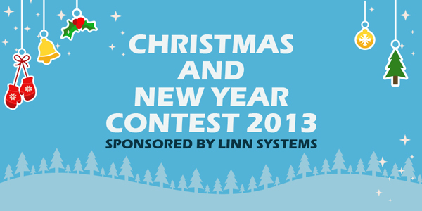 Christmas-and-New-Year-Contest-2013,-sponsored-by-Linn-Systems