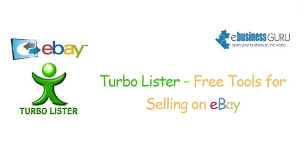 Turbo Lister – Free Tools for Selling on eBay