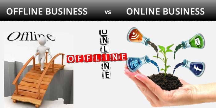 shifting an offline business online