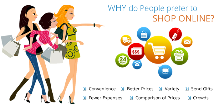 Why do People prefer to shop online