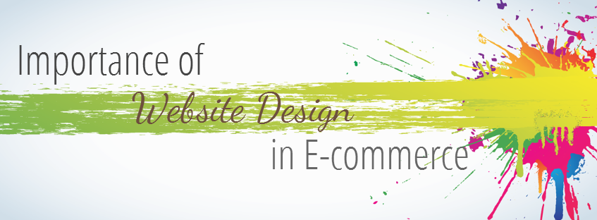 Importance of website design in E-commerce