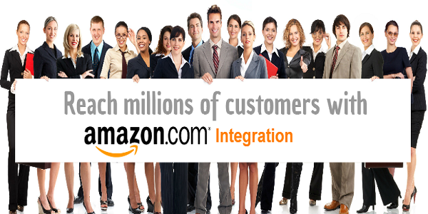 Reach millions of customers with our Amazon integration