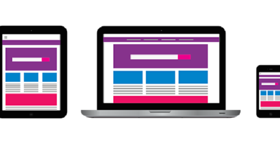 Responsive Website - f