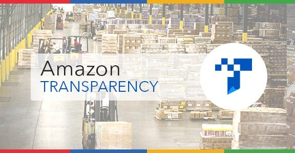 Amazon Transparency programme 600x300