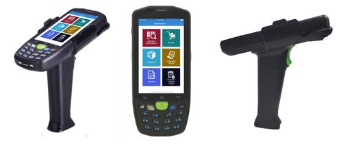 Scanners for warehouse management app