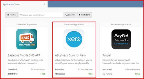 Xero Linnworks Connector App User Manual | Ebusiness Guru