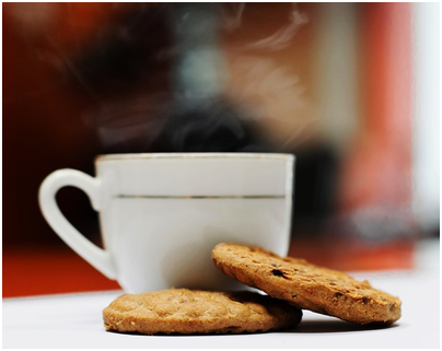 coffee and good biscuits