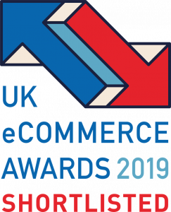 UK eCommerce Awards 2019 Shortlist Logo