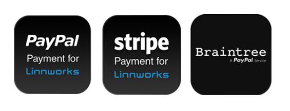 PayPal, Stripe, Braintree logo