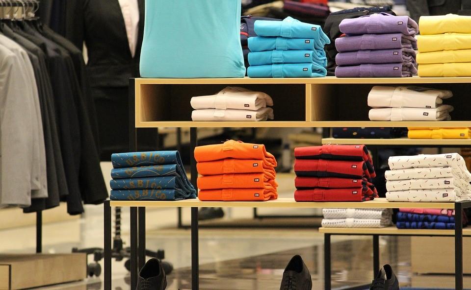Tshirts folded